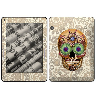 Amazon Kindle Voyage Skin - Sugar Skull Bone