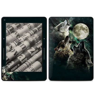 Amazon Kindle Voyage Skin - Three Wolf Moon