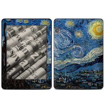 Amazon Kindle Voyage Skin - Starry Night