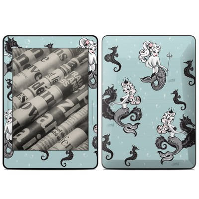Amazon Kindle Voyage Skin - Vintage Mermaid