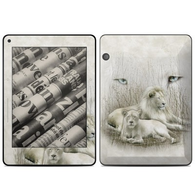 Amazon Kindle Voyage Skin - White Lion