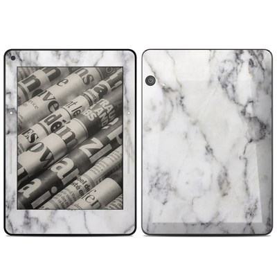 Amazon Kindle Voyage Skin - White Marble