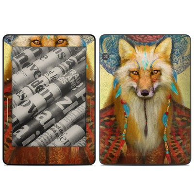 Amazon Kindle Voyage Skin - Wise Fox
