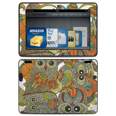Amazon Kindle HDX Skin - 4 owls