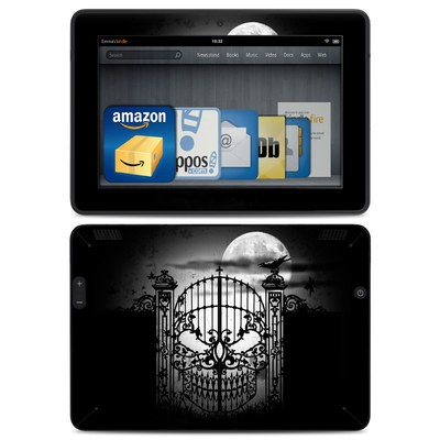 Amazon Kindle HDX Skin - Abandon Hope