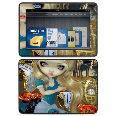 Amazon Kindle HDX Skin - Alice in a Dali Dream