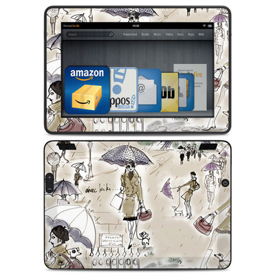 Amazon Kindle HDX Skin - Ah Paris