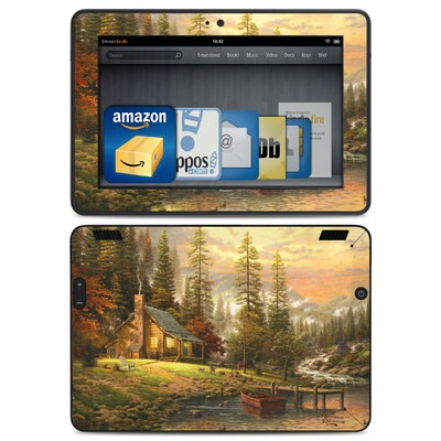 Amazon Kindle HDX Skin - A Peaceful Retreat
