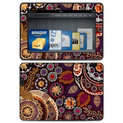 Amazon Kindle HDX Skin - Autumn Mehndi