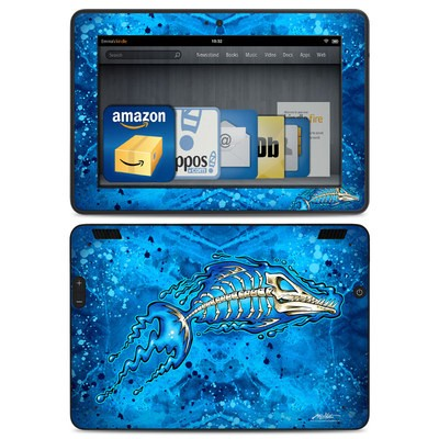 Amazon Kindle HDX Skin - Barracuda Bones