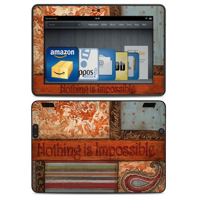 Amazon Kindle HDX Skin - Be Inspired