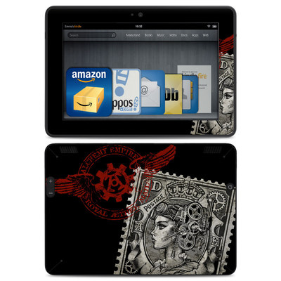 Amazon Kindle HDX Skin - Black Penny
