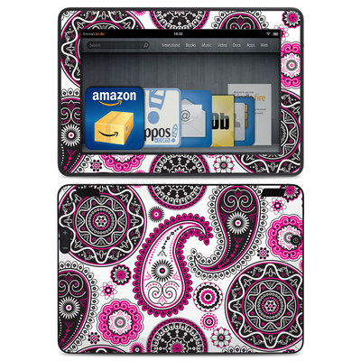 Amazon Kindle HDX Skin - Boho Girl Paisley