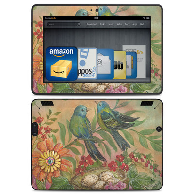 Amazon Kindle HDX Skin - Splendid Botanical