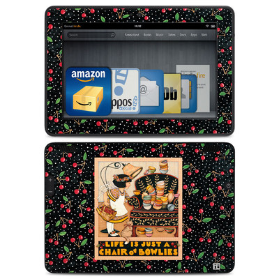 Amazon Kindle HDX Skin - Chair of Bowlies