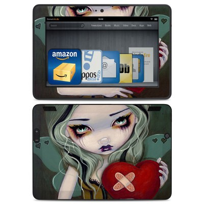 Amazon Kindle HDX Skin - Broken Heart