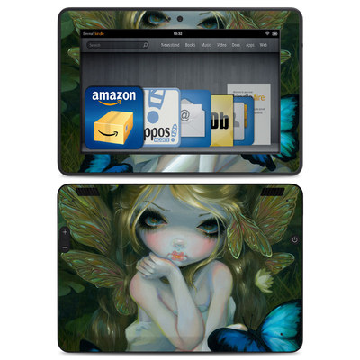 Amazon Kindle HDX Skin - Butterfly Lily