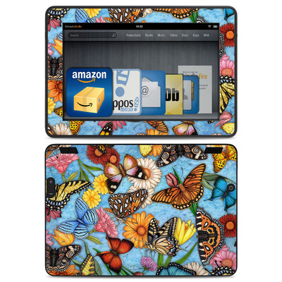 Amazon Kindle HDX Skin - Butterfly Land