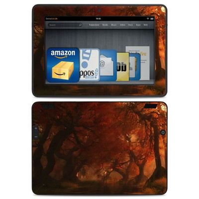 Amazon Kindle HDX Skin - Canopy Creek Autumn