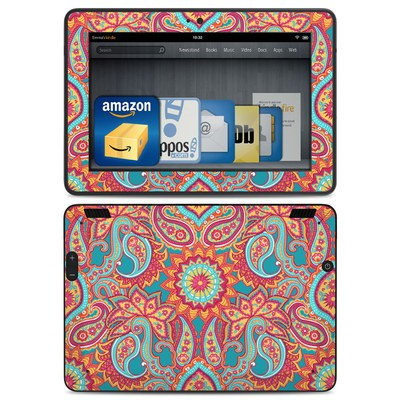 Amazon Kindle HDX Skin - Carnival Paisley