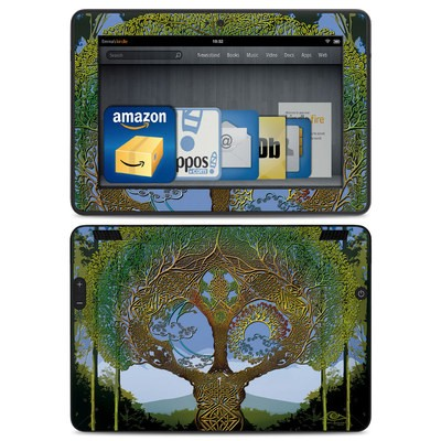 Amazon Kindle HDX Skin - Celtic Tree