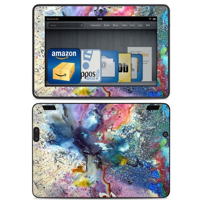 Amazon Kindle HDX Skin - Cosmic Flower