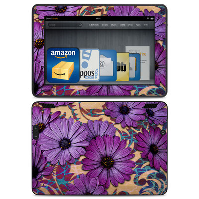 Amazon Kindle HDX Skin - Daisy Damask