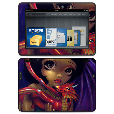Amazon Kindle HDX Skin - Darling Dragonling