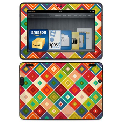 Amazon Kindle HDX Skin - Diamante