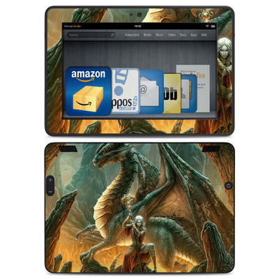 Amazon Kindle HDX Skin - Dragon Mage