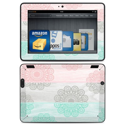 Amazon Kindle HDX Skin - Doily