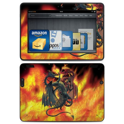 Amazon Kindle HDX Skin - Dragon Wars