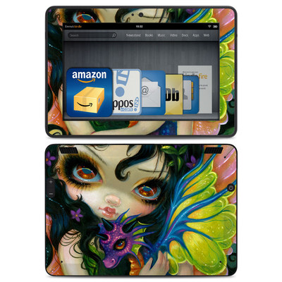 Amazon Kindle HDX Skin - Dragonling Child