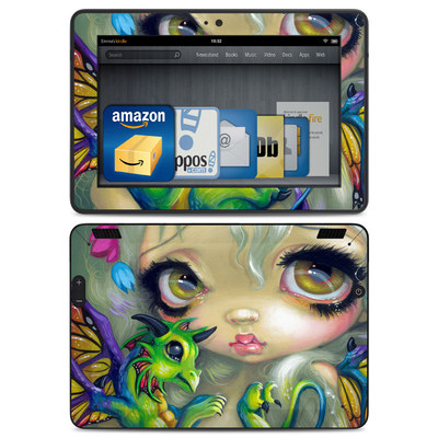 Amazon Kindle HDX Skin - Dragonling