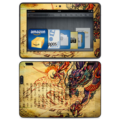 Amazon Kindle HDX Skin - Dragon Legend