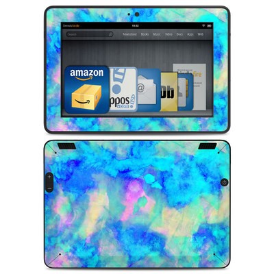 Amazon Kindle HDX Skin - Electrify Ice Blue