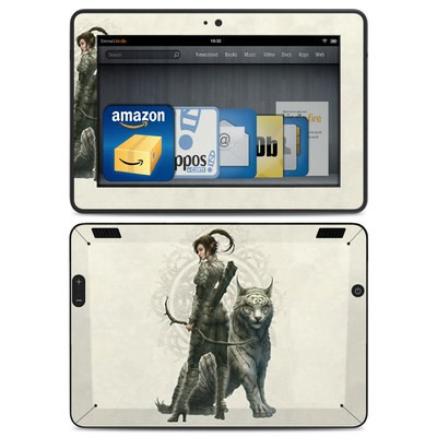 Amazon Kindle HDX Skin - Half Elf Girl