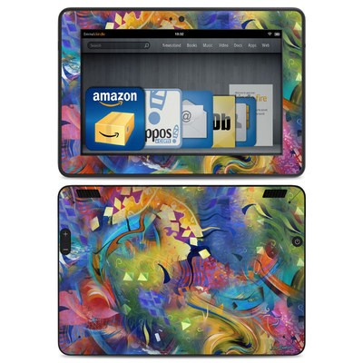 Amazon Kindle HDX Skin - Fascination