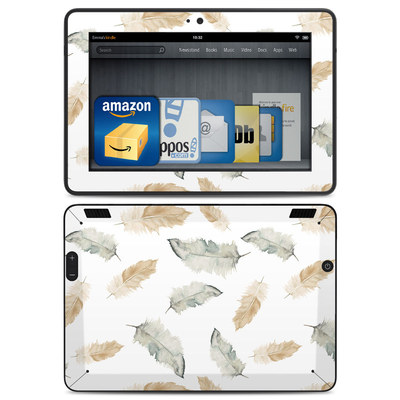 Amazon Kindle HDX Skin - Feathers