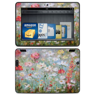 Amazon Kindle HDX Skin - Flower Blooms