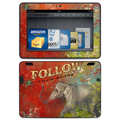Amazon Kindle HDX Skin - Follow Your Bliss