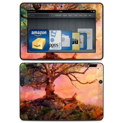 Amazon Kindle HDX Skin - Fox Sunset