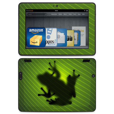 Amazon Kindle HDX Skin - Frog