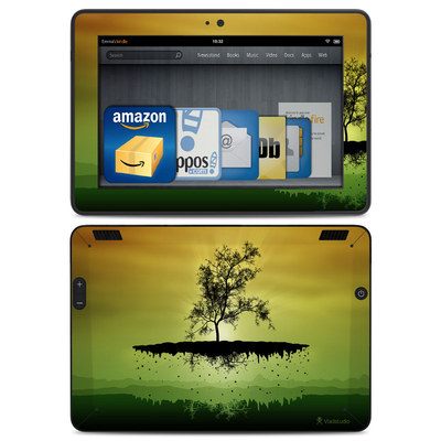 Amazon Kindle HDX Skin - Flying Tree Amber