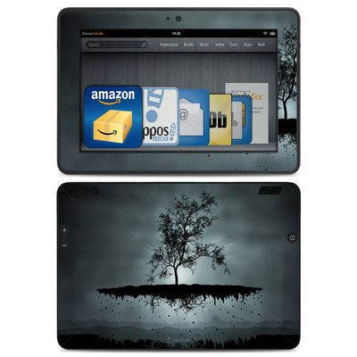 Amazon Kindle HDX Skin - Flying Tree Black