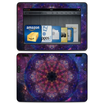 Amazon Kindle HDX Skin - Galactic Mandala