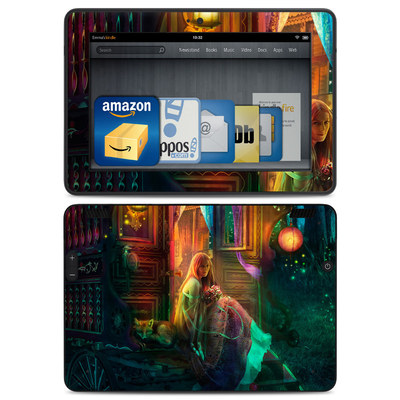 Amazon Kindle HDX Skin - Gypsy Firefly