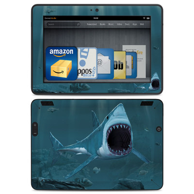 Amazon Kindle HDX Skin - Great White