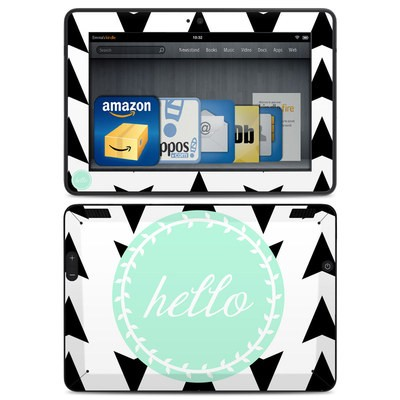 Amazon Kindle HDX Skin - Greetings