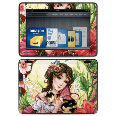 Amazon Kindle HDX Skin - Hibiscus Fairy